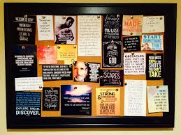 a motivation board one of the most effective ways to stay