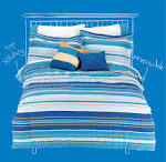 COEXIST by Cannon Microfiber Sheet Set - Bed & Bath - Bedding ...