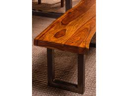 hillsdale furniture dining room emerson bench natural sheehan