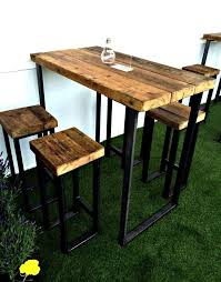 high table patio set breathtaking height table chairs ideas outdoor furniture high table