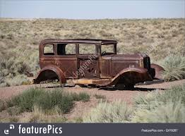 rusty car photography picture of abandoned car on route 66