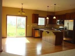 cabining open concept in split level needs more cabinets floor to