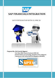 sap fi integration with co mm sd