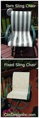 Replacement Fabric For Outdoor Sling Chairs Diy And Upcycle That Patio Furniture Paint And Replace Fabric