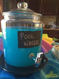 birthday pool party the bubbly hostess