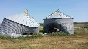 Bell Barn Indian Head Driver Sought After Vehicle Plows Into Two Grain Bins Near Indian