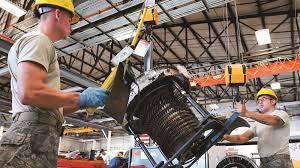 Turbine Engine Mechanic Total Force Airmen Provide F 16 Jet Engine Expertise Hilltop Times