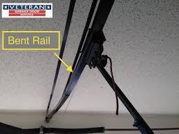 garage door opener track why my garage door makes loud noise every time i use it