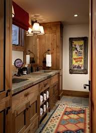 Cottage Bathroom Design Colors Best 25 Rustic Cabin Bathroom Ideas On Pinterest Cabin