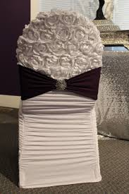 ruched chair covers chair covers bands and sashes exquisite events and wedding decor