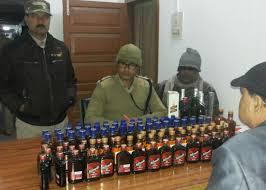 list of assam rifles 28 assam rifles seize liquor crime nelive