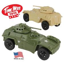army vehicles timmee recon patrol armored cars plastic army men scout vehicles