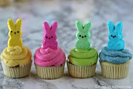 Decorating Easter Cupcakes With Peeps by Peeps Cupcakes Easy Easter Cupcakes Easter Dessert Recipes