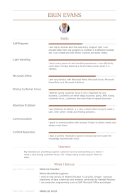 Warehouse Logistics Resume Sample by Material Handler Resume Samples Visualcv Resume Samples Database