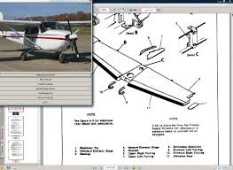 cessna 172 u0026 skyhawk manual set engine 77 86 download manuals u0026