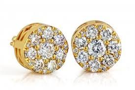 gold stud earrings for men diamond earrings collection treasure jewelry