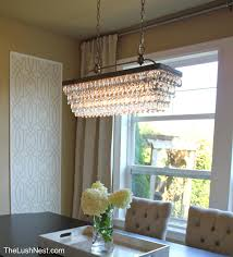 Rectangular Chandeliers Dining Room Kitchen Lighting Pottery Barn Hanging Lights Pottery Barn Home