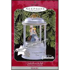 1998 cinderella at the disney magic hallmark ornaments