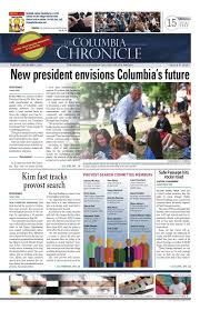 9 3 13 chronicle by student publications columbia college