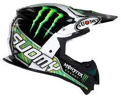 monster energy motocross gear suomy mx jump monster energy helmet revzilla