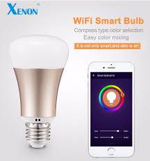xenon wifi rgb works with amazon alexa echo bulb sm r60 led wifi