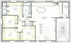 plan maison plain pied 4 chambres avec suite parentale résultat supérieur 60 meilleur de plan maison plain pied 3 chambres