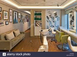 norwegian interior design norwegian getaway cruise ship southampton united kingdom stock