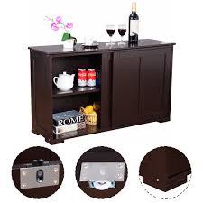 Surplus Kitchen Cabinets Costway Kitchen Storage Cabinet Sideboard Buffet Cupboard Wood