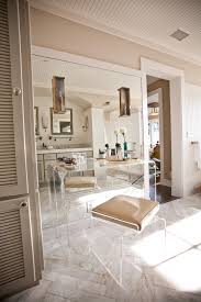 lucite desk bathroom eclectic with acrylic stool acrylic vanity