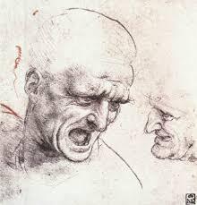 Leonardo Da Vinci Drapery Studies For The Heads Of Two Soldiers In U0027the Battle Of Anghiari