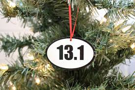 13 1 running ornament great gift for half marathon