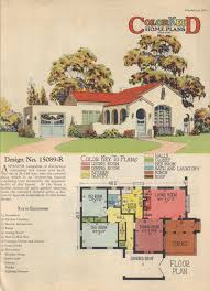 Spanish Homes Plans by Colorkeed Home Plans Radford 1920s Vintage House Plans 1920s