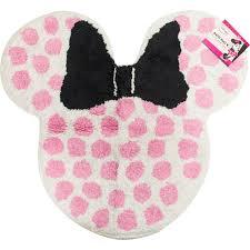 Disney Bath Rug Disney Minnie Mouse Bath Rug Shower Curtains Bath Rugs Home