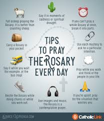 10 simple tips to help you pray the rosary every day churchpop