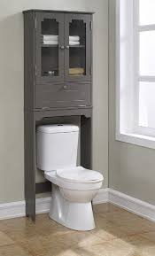 bathroom cabinets espresso over the toilet cabinet with wicker