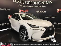 lexus nx demo for sale pre owned 2017 lexus nx 200t demo unit f sport series 3 4 door