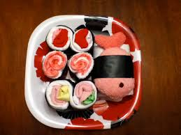 cool baby shower gifts make a sushi baby shower gift dollar store crafts