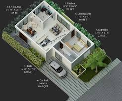 30x40 house floor plans 20 x 40 duplex house plans south facing escortsea 3040 plan 3d
