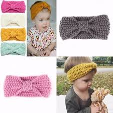 knitted headband baby wool knitted headband hair band ski hat earmuffs winter warm