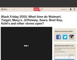 what time does target opens on black friday sears jcpenney black friday 2015 what time do walmart target