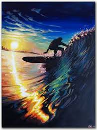 ron croci cotw surf artist surf art pinterest surf