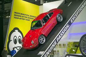 singer porsche red singer brings two reimagined porsche 911s to 2017 detroit auto