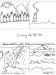 coloring download parting of the red sea coloring page parting of
