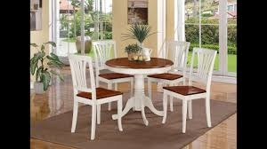 Small Round Dining Room Table Small Round Dining Table Set Youtube