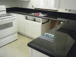 Kitchens With White Cabinets And Black Countertops Black Pearl Granite Black Pearl Granite Honed Cambrian Black