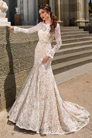 retro wedding dresses 2016 lace mermaid wedding dresses with open back chagne