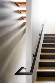 Metal Stair Rails And Banisters Best 25 Steel Handrail Ideas On Pinterest Balustrade Design