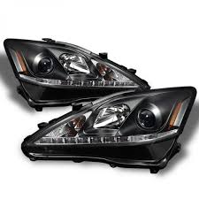 lexus 2010 black spyder 2006 2010 lexus is250 is350 headlights