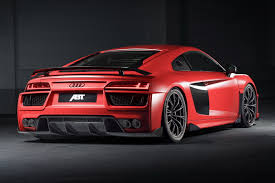 audi r8 abt shaves 50kg and adds 20hp to audi r8 v10