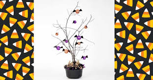 Tree Centerpiece Halloween Tree Centerpiece For Your Party Table The Dollar Tree Blog